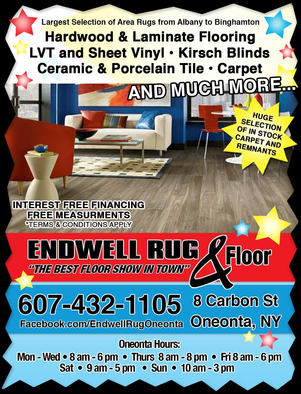 Elegant Endwell Rug Fair