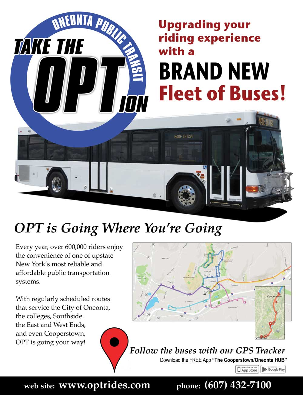 Opt Bus Tracker Cooperstown - Best Photo Bus Parahiyangan Com